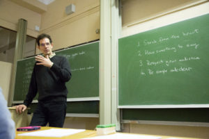 Prof Neil Turok on 'What makes a good talk'